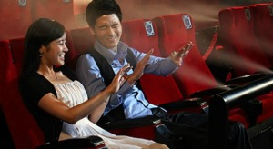4DX cinema experience